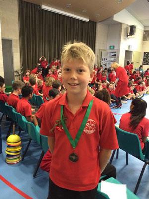 Child wins Literacy Award
